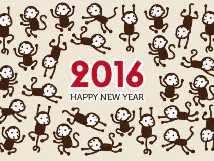 Chiński Rok Małpy 2016